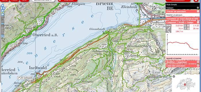 Dimanche 26 avril 2015 le lac de brienz de giessbach - Lac de brienz ...