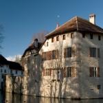 chateau et lac Hallwil